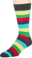 HS by Happy Socks Happy Socks Mens Striped Crew Socks