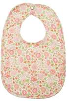 Liberty of London Designs Liberty Print Floral Bib in Pink Multi