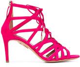 Aquazzura 'Ivy' sandals - women - Leather/Suede - 36