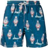 Mc2 Saint Barth Shark Time swim shorts
