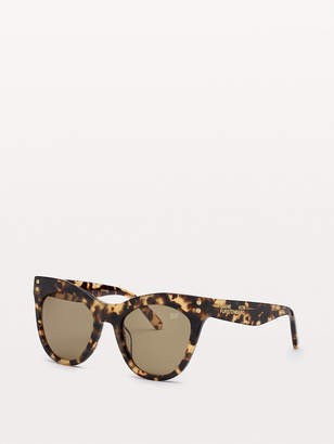 Diane von Furstenberg Madilyn Cat-Eye Sunglasses