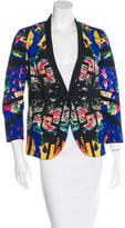 Clover Canyon Printed Collarless Blazer