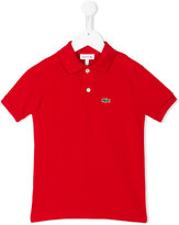 Lacoste Kids - logo embroidery polo shirt - kids - Cotton - 4 yrs