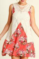 Umgee USA Floral Fashionista Dress