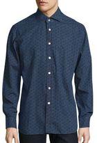 Kiton Abstract Printed Shirt