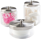 InterDesign Forma 3-Combo Apothecary Jars (Set of 3)
