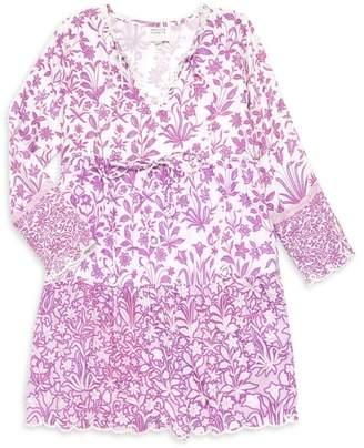 HEMANT AND NANDITA Little Girl's & Girl's Floral Dress