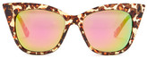 Steve Madden Women&s Extreme Cat Eye Sunglasses