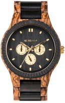 WeWood Men's Kappa Multifunctional Wood Bracelet Watch, 46Mm