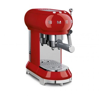 Smeg 50's Retro Style Aesthetic Espresso Coffee Machine, Red (Available for UAE Customers Only)