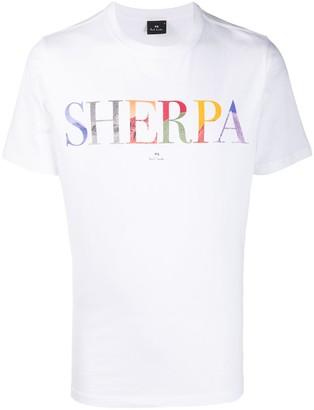 Paul Smith short-sleeved Sherpa T-shirt