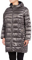 Michael Michael Kors Long Packable Down Jacket