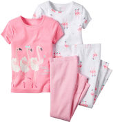 Carter's Flamingo 4-pc. Pajama Set - Toddler Girls 2t-5t