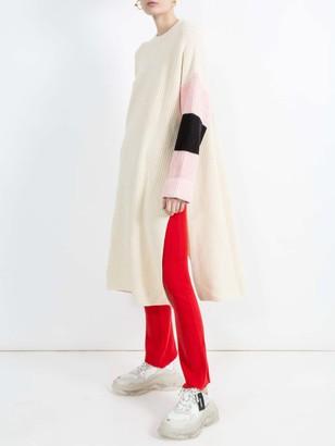 ALEXANDRA GOLOVANOFF Ribbed Knit Trousers