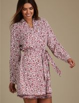 Marks and Spencer Folk Print Dressing Gown