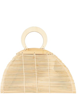 Cult Gaia Ally Bamboo Top Handle Bag
