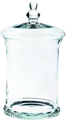Abigails Classic Glass Apothecary Jar, Large