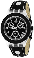 Swatch Black Cup SVCK4072 Men's Plastic Analog Watch Chronograph