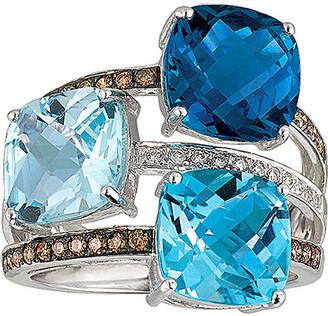 LeVian Le Vian 14K 9.75 Ct. Tw. Diamond & Gemstone Ring