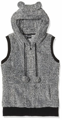 Urban Classics Women's Ladies Melange Teddy Vest Indoor Gilet