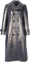 Comme des Garcons metallic (Grey) trench