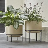 Crate & Barrel Sand Planters with Stands