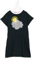 Fendi sun print dress - kids - Cotton - 3 yrs