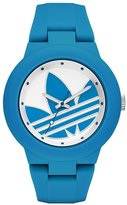adidas Women's 'Aberdeen' Quartz Plastic and Silicone Automatic Watch, Color:Blue (Model: ADH3118)