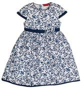 Salt&Pepper SALT AND PEPPER Girl's Weiß Mit Blauen Blumen Dresses