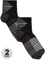 Nike Dry Elite Lightweight Quarter Running Socks