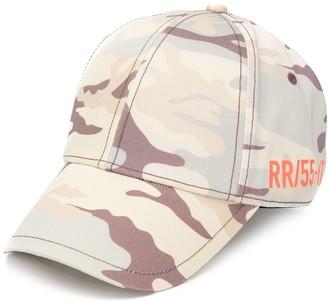 Diesel Camouflage-Print Cotton Cap