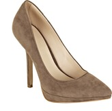 Spiegel The Classic High-Heel Pump in Faux Suede - Available in Additional Colors