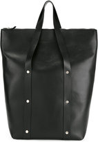 Marni stud detail tote bag - men - Cotton/Calf Leather/Polyester - One Size