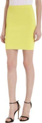 Alexander Wang Compact Double Faced Pencil Skirt