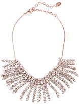 Erickson Beamon War Of Roses Rose Gold-Plated Swarovski Crystal Necklace