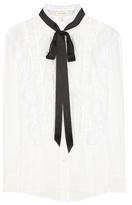 Marc Jacobs Blouse En Coton à Volants