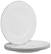 10 Strawberry Street Bone Band Dinner Plates (Set of 4)