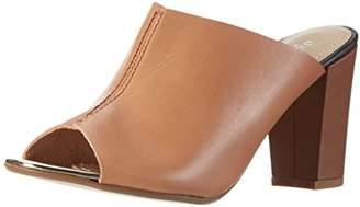Gardenia COPENHAGEN Slippers on heel, Women's Open Back Slippers, Brown (Vaquetta Tan), (38 EU)