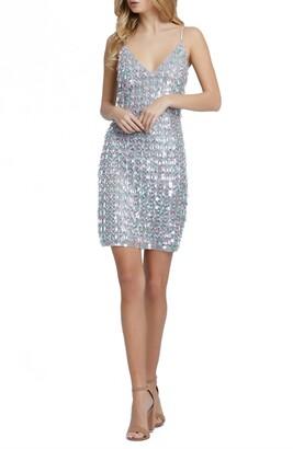 Mac Duggal Beaded Cocktail Dress