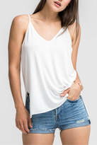 Lush White Cami Top