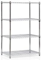 Furinno Chrome Wayar Four-Tier Shelf