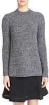Carven Side Slit Merino Wool Sweater