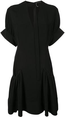 Proenza Schouler Crepe Short Dress