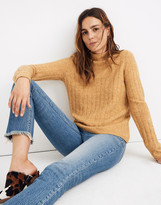 Madewell Evercrest Turtleneck Sweater in Coziest Yarn