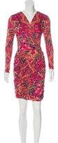 Mara Hoffman Abstract Print Mini Dress
