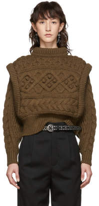 Isabel Marant Brown Milane Sweater