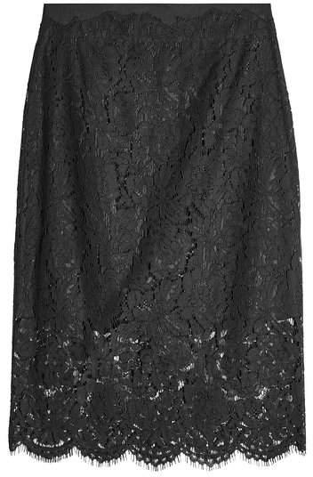 Diane von Furstenberg Lace Pencil Skirt