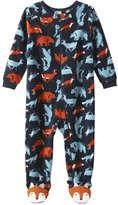 Joe Fresh Baby Boys' Graphic Sleeper, Navy (Size 0-3)