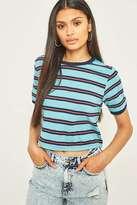 BDG Pop Peach Stripe T-Shirt
