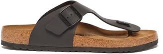 Birkenstock Ramses Faux-leather Sandals - Mens - Black